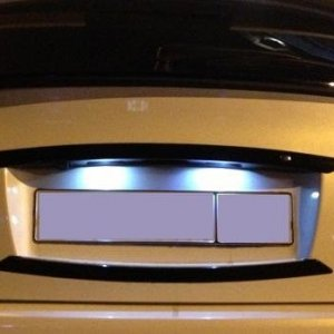 Diode lights tailgate