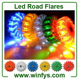 LED Power Flares ( Led Road Flares, Led Flares, Led Safety Flares, Led Emergency Flares, Power Flare,  Road Flares ) is an ideal safety signal light t